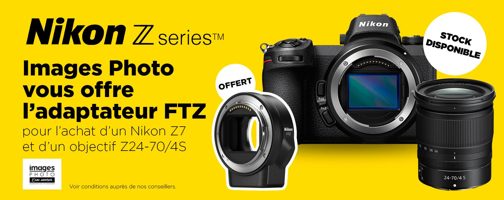 Nikon z7 + obj