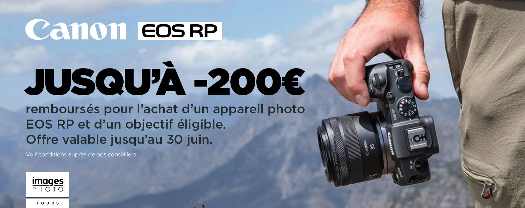 Canon EOS RP - 30 juin 2019