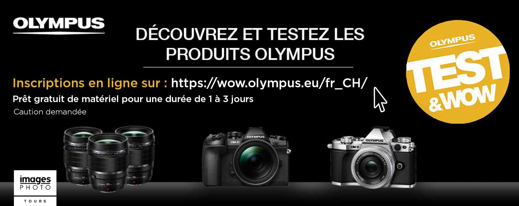 Olympus test&wow